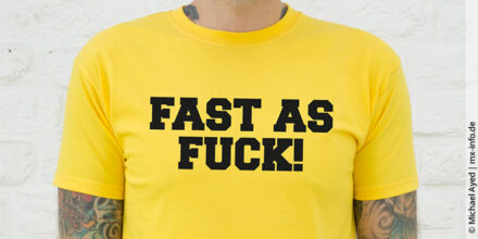 Fast as Fuck – Motocross-Shirt