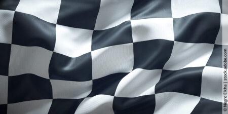 Flaggensignale bei Motocross-Rennen und Trainings