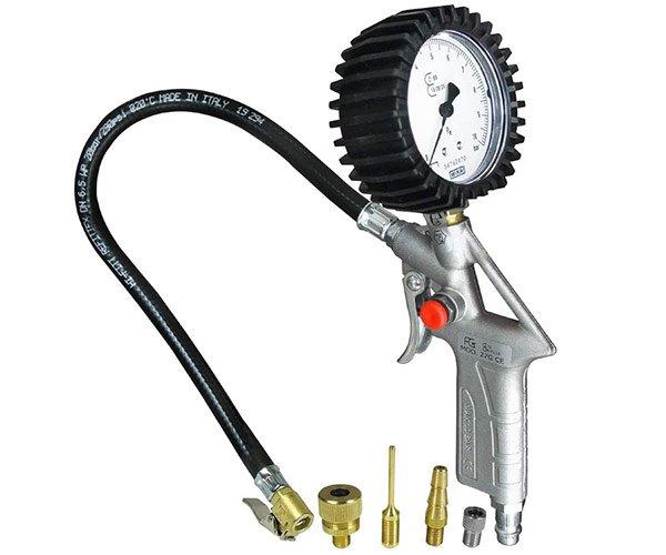 DF DF11046 Luftdruckprüfer und Reifenfüller