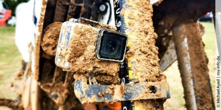 Welche GoPro-Halterung sorgt für coole Videos beim Motocross?