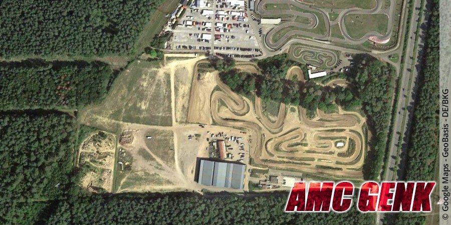 Motocross-Strecke AMC Genk in Belgien