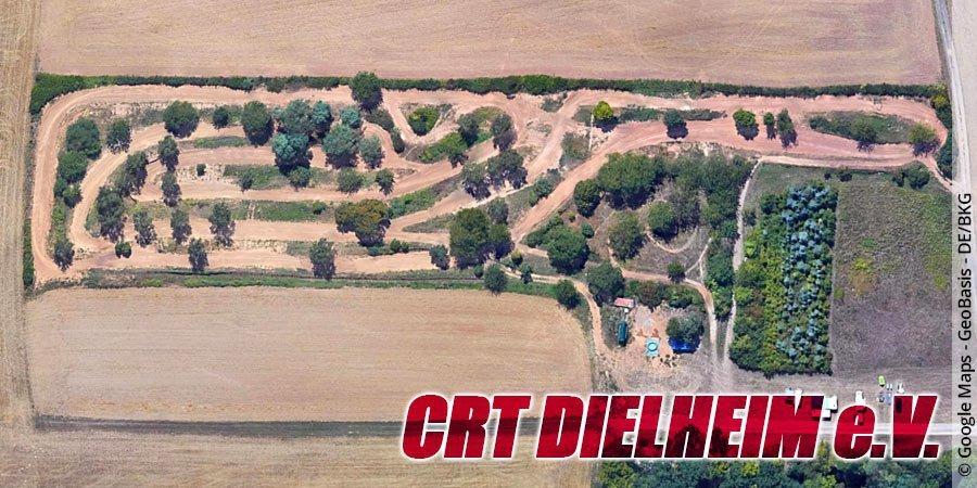 Motocross-Strecke CRT Dielheim e.V. in Baden-Württemberg