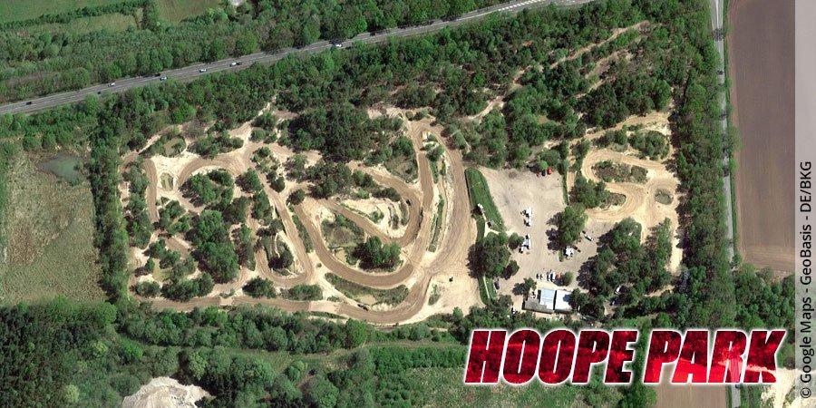Motocross-Strecke Hoope Park in Niedersachsen