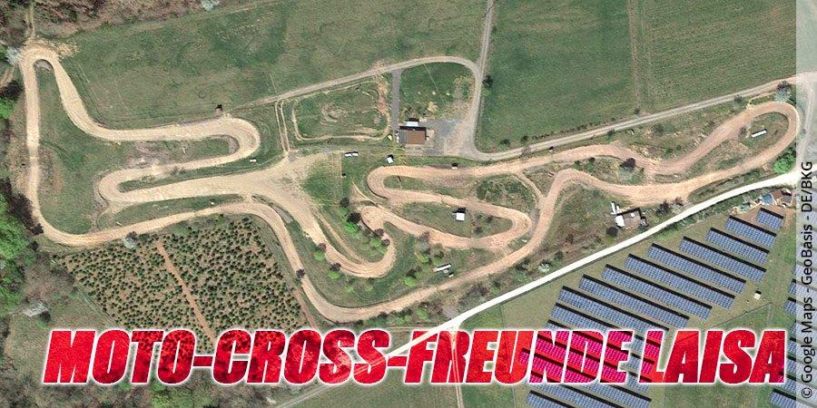 Motocross-Strecke Moto-Cross-Freunde Laisa e.V. in Hessen