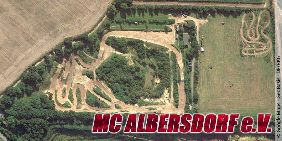 Motocross-Strecke MC Albersdorf e.V. in Schleswig-Holstein