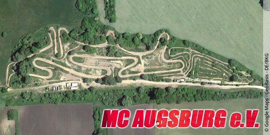Motocross-Strecke MC Augsburg e.V. in Bayern