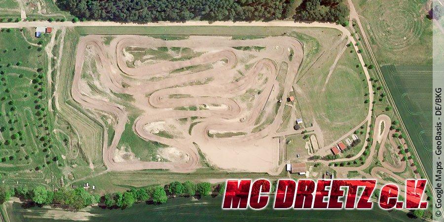Motocross-Strecke MC Dreetz e.V. im ADAC in Brandenburg