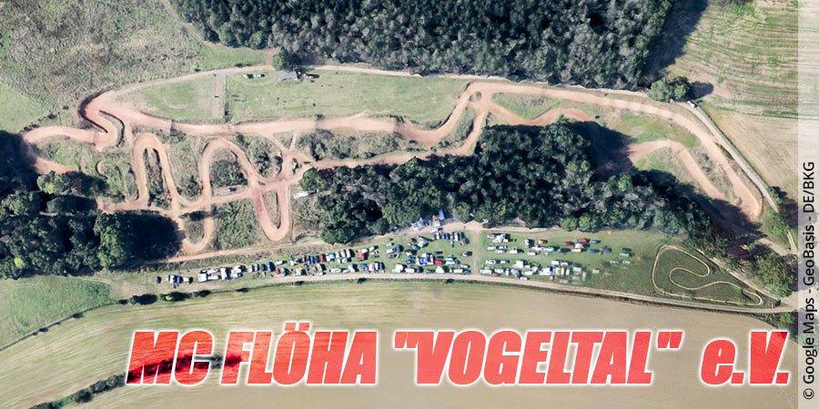 """Motocross-Strecke MC FLÖHA """"VOGELTAL"""" e.V. in Sachsen"""