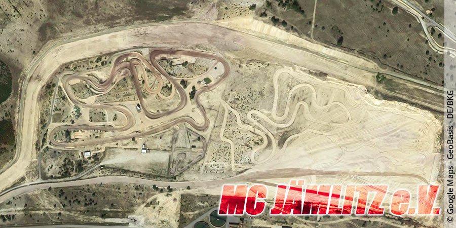 Motocross-Strecke MC Jämlitz e.V. in Sachsen