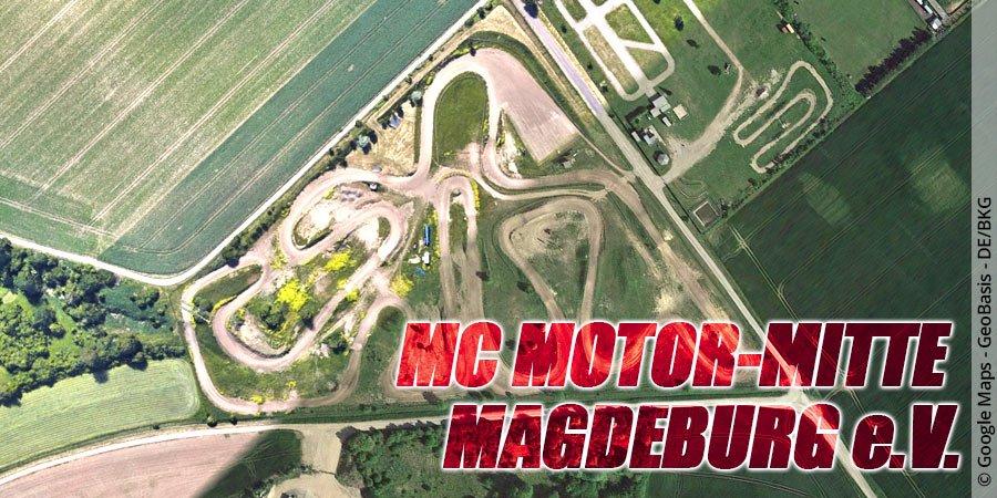 Motocross-Strecke Motor-Mitte Magedeburg e.V. in Sachsen-Anhalt