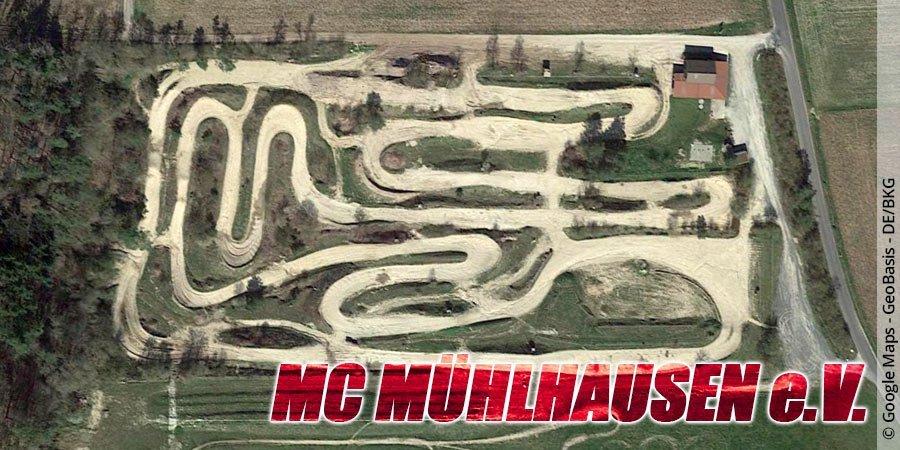 Motocross-Strecke MC Mühlhausen e.V. in Bayern