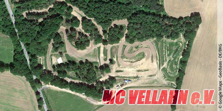 Motocross-Strecke MC Vellahn e.V. in Mecklenburg-Vorpommern