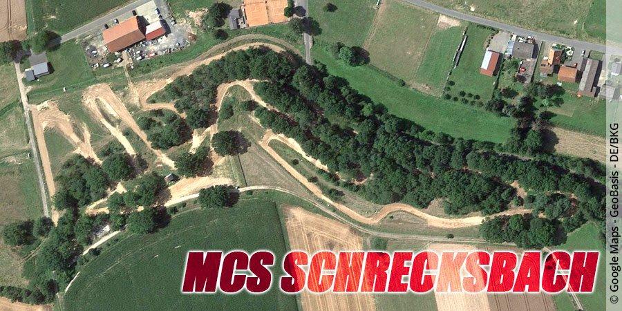 Motocross-Strecke MCS-Schrecksbach in Hessen