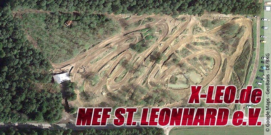 Motocross-Strecke MEF St. Leonhard e.V. in Bayern