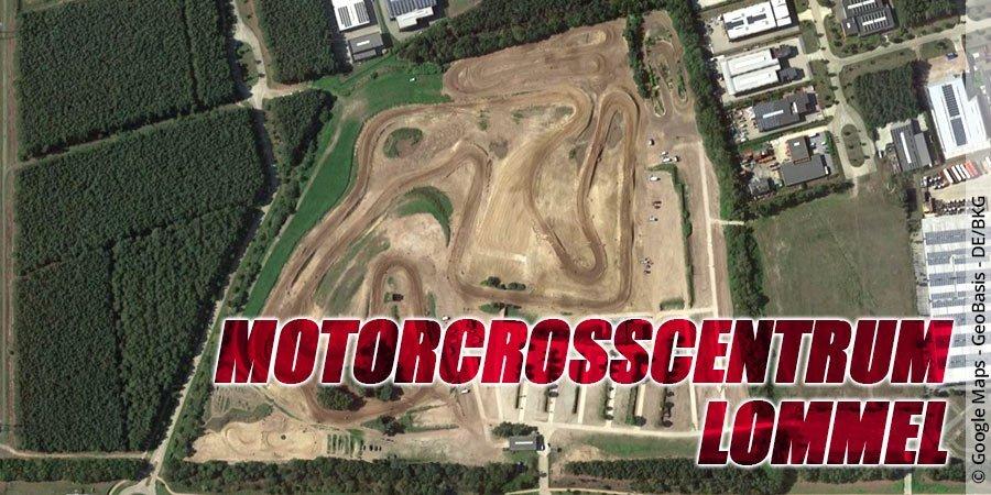 Motocross-Strecke Stedelijke Motorcrosscentrum Lommel in Belgien