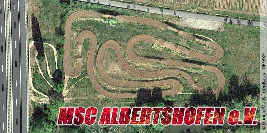 Motocross-Strecke MSC Albertshofen e.V. in Bayern