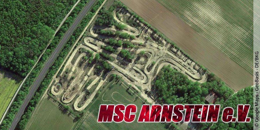 Motocross-Strecke MSC Arnstein e.V. in Bayern