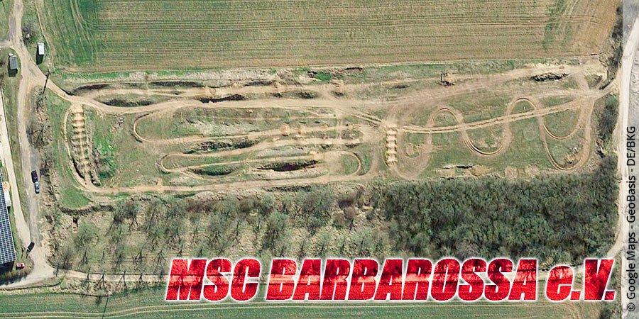 Motocross-Strecke MSC Barbarossa e.V. in Thüringen