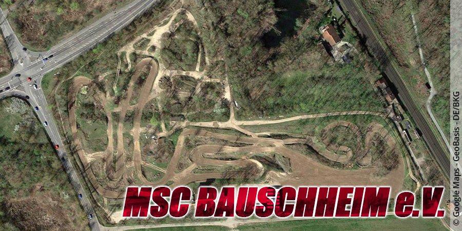 Motocross-Strecke MSC Bauschheim e.V. in Hessen