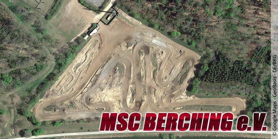 Motocross-Strecke MSC Berching e.V. in Bayern