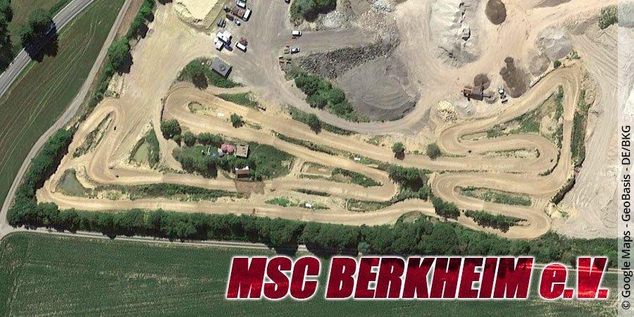 Motocross-Strecke MSC Berkheim e.V. in Baden-Württemberg