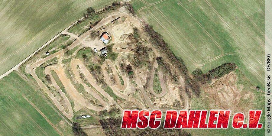 Motocross-Strecke MSC Dahlen e.V. in Sachsen