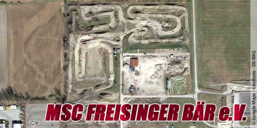 Motocross-Strecke MSC Freisinger Bär e.V. in Bayern
