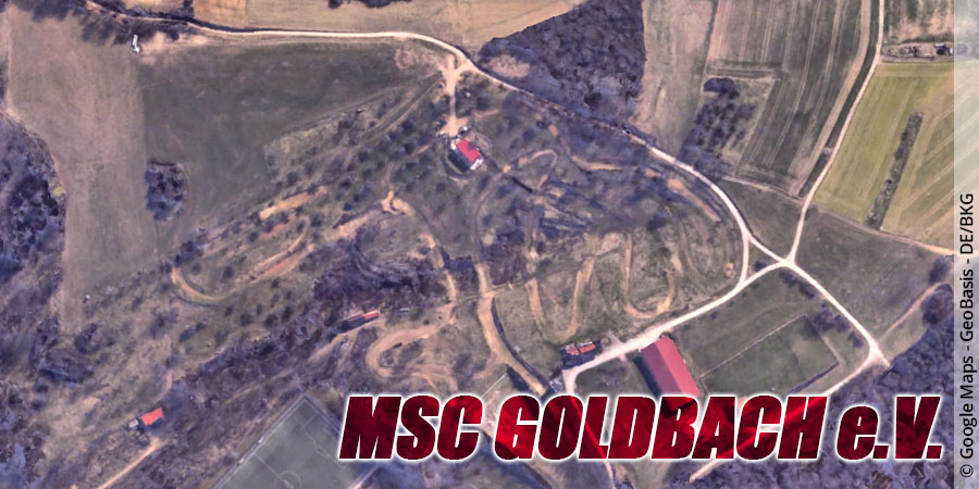 Motocross-Strecke MSC Goldau e.V. in Bayern