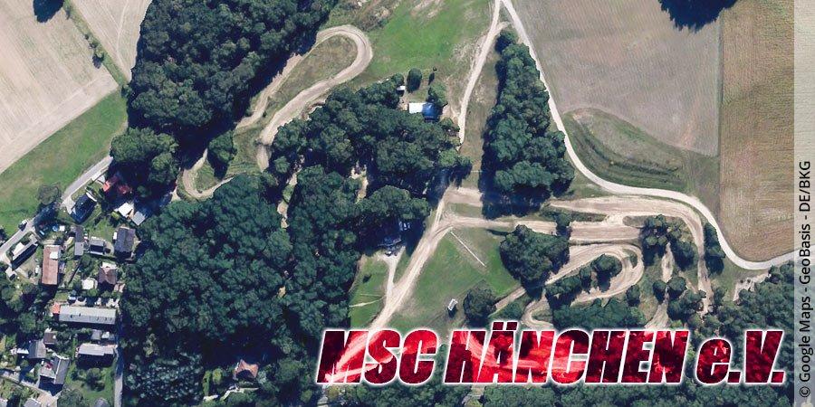 Motocross-Strecke MSC Hänchen e.V. in Brandenburg