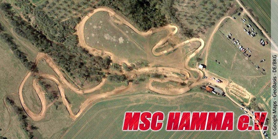 Motocross-Strecke MSC Hamma e.V. in Thüringen