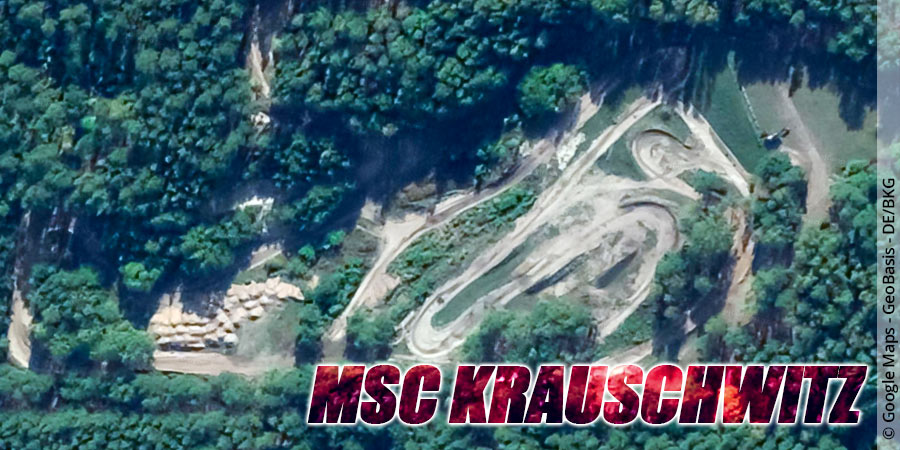 Motocross-Strecke MSC Krauschwitz in Sachsen