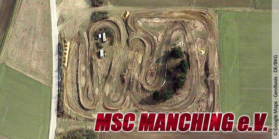 Motocross-Strecke MSC Manching e.V. in Bayern