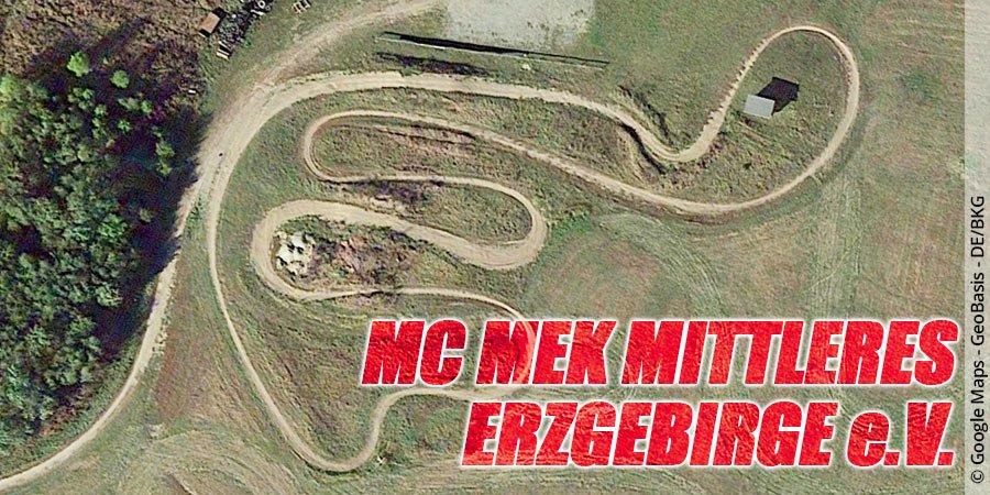 Motocross-Strecke MC MEK Mittleres Erzgebirge e.V. in Sachsen