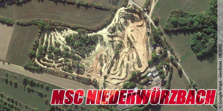Motocross-Strecke MSC Niederwürzbach im Saarland