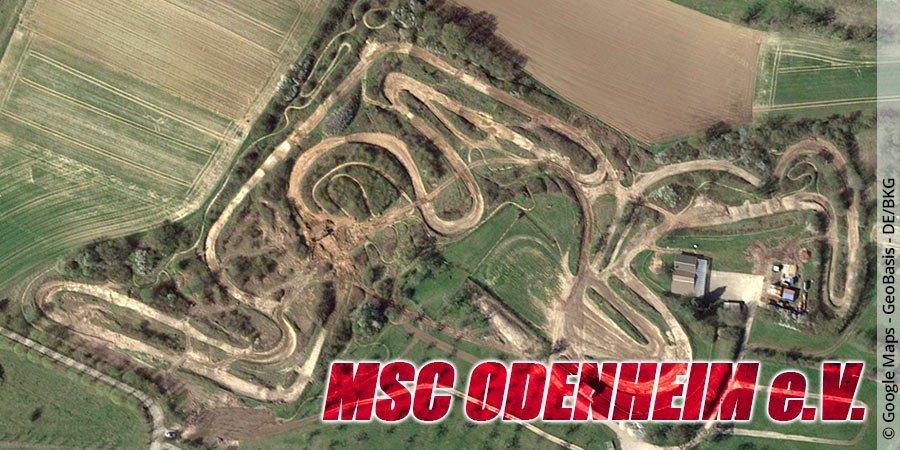 Motocross-Strecke MSC Odenheim e.V. in Baden-Württemberg