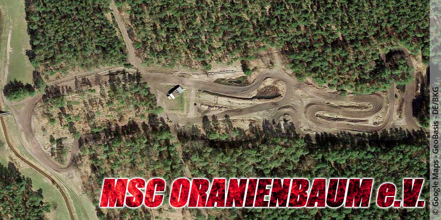 Motocross-Strecke MSC Oranienbaum e.V. in Sachsen-Anhalt