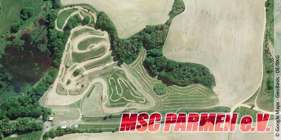 Motocross-Strecke MSC Parmen e.V. in Brandenburg