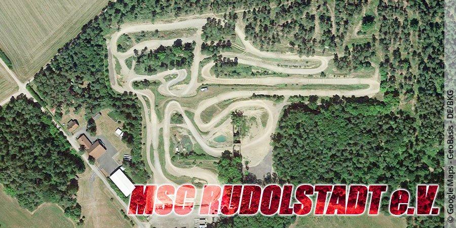Motocross-Strecke MSC Rudolstadt e.V. in Thüringen