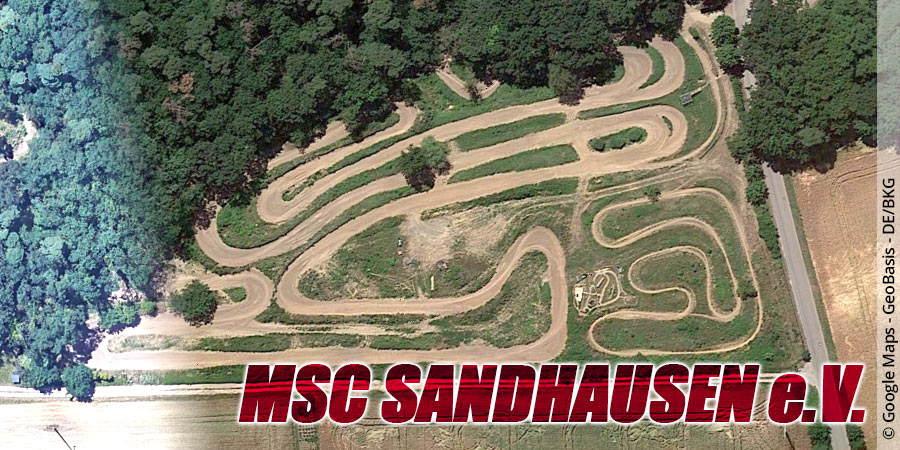 Motocross-Strecke MSC Sandhausen e.V. in Baden-Württemberg