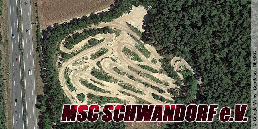 Motocross-Strecke MSC Schwandorf e.V. in Bayern