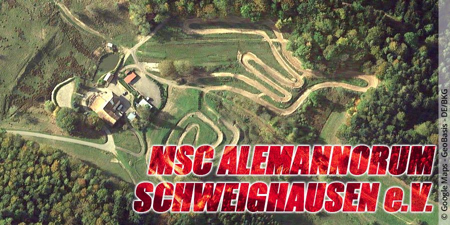 Motocross-Strecke MSC Alemannorum Schweighausen e.V. in Baden-Württemberg