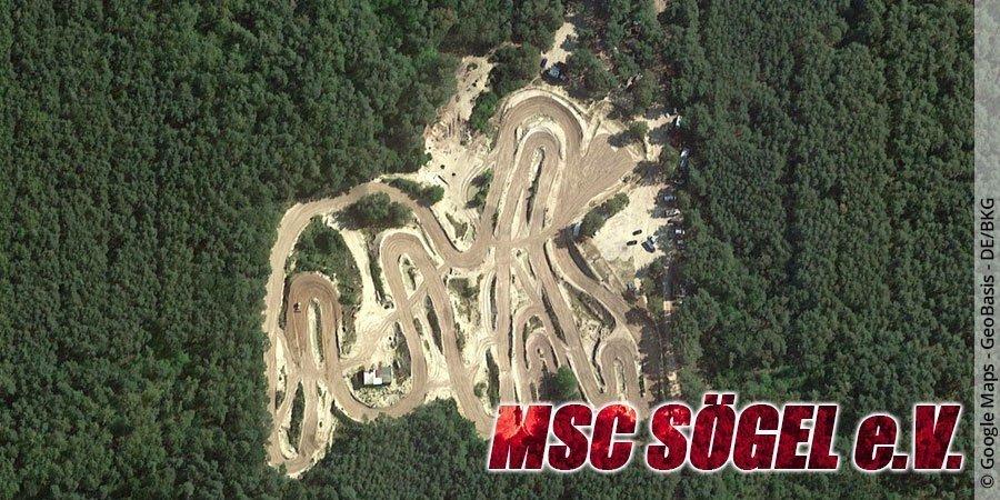 Motocross-Strecke MSC Sögel e.V. in Niedersachsen