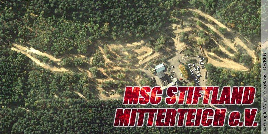 Motocross-Strecke MSC Stiftland Mitterteich e.V. in Bayern