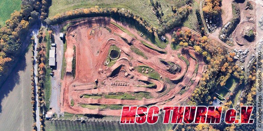 Motocross-Strecke MSC Thurm e.V. in Sachsen
