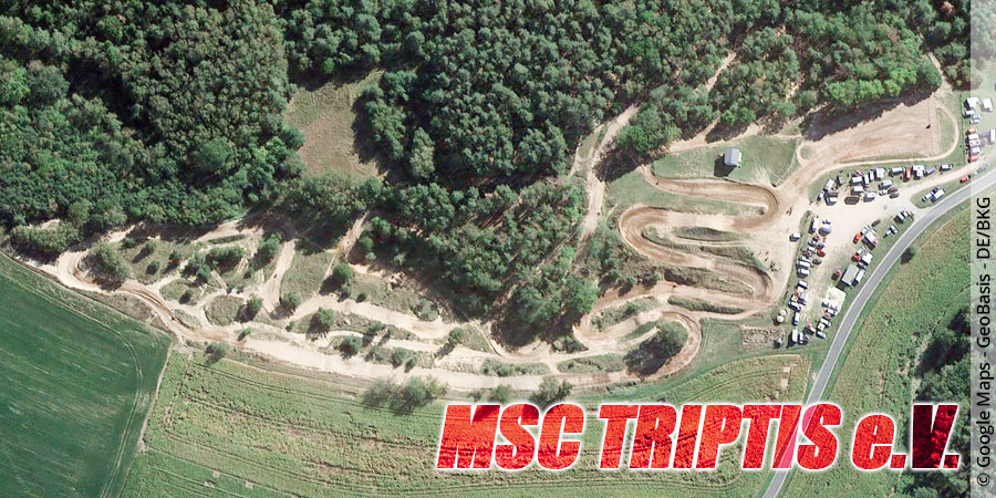Motocross-Strecke MSC Triptis e.V. in Thüringen
