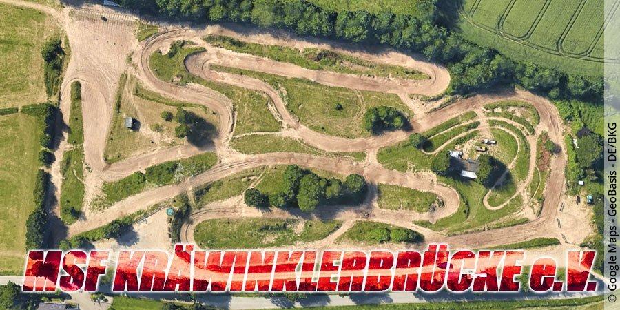 Motocross-Strecke MSF Kräwinklerbrücke e.V. in Nordrhein-Westfalen
