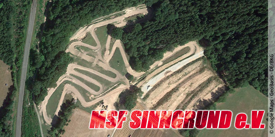 Motocross-Strecke MSF Sinngrund e.V. in Bayern
