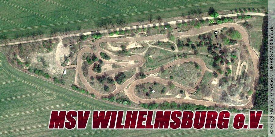 Motocross-Strecke MSV Wilhelmsburg e.V. in Mecklenburg-Vorpommern