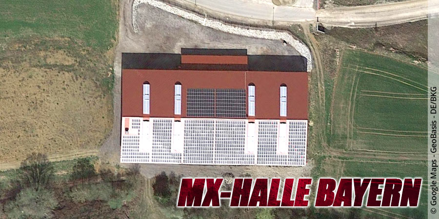 Motocross-Strecke MX-Halle Bayern in Bayern