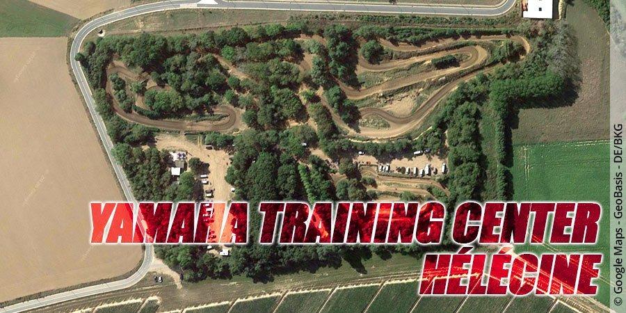Motocross-Strecke Yamaha Training Center Hélécine